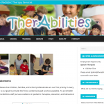 TherAbilities LMS landing page